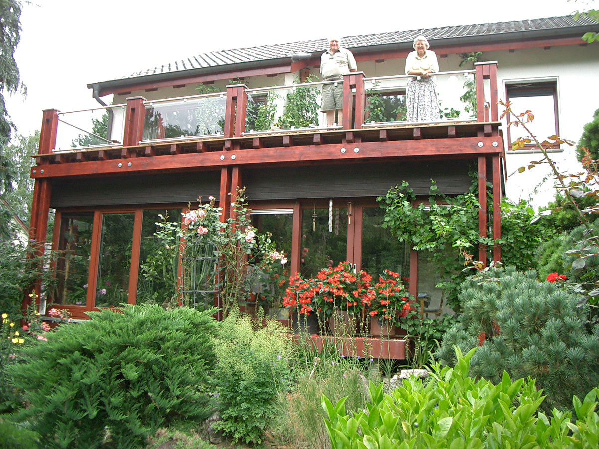 Berühmt Zimmerei Lotze: Neubau - Balkone und Wintergärten EB67