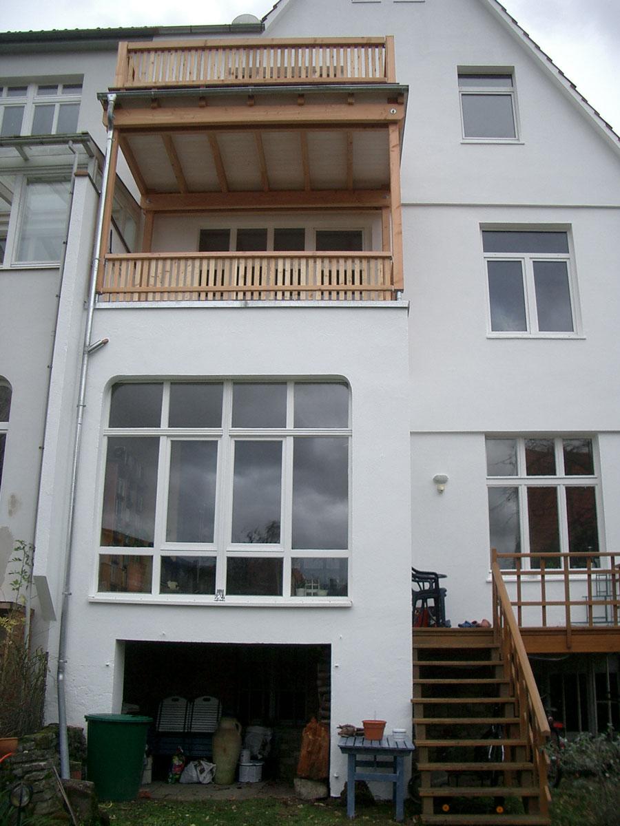 Turbo Zimmerei Lotze: Neubau - Balkone und Wintergärten ZX65